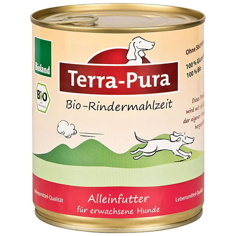 Bioland Rindermahlzeit 6 x 800 gr Dosen - Pet Feels Good Graf