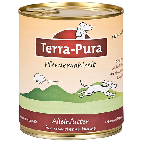 Pferdemahlzeit 6 x 800 gr Dosen - Pet Feels Good Graf