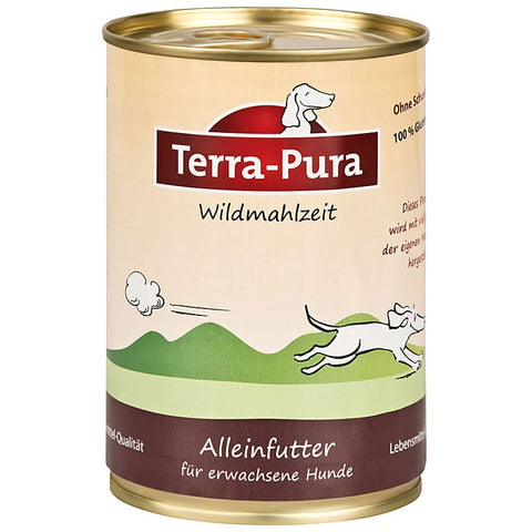 Wildmahlzeit 12 x 400 gr Dosen - Pet Feels Good Graf