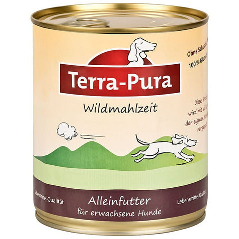 Wildmahlzeit 6 x 800 gr Dosen - Pet Feels Good Graf