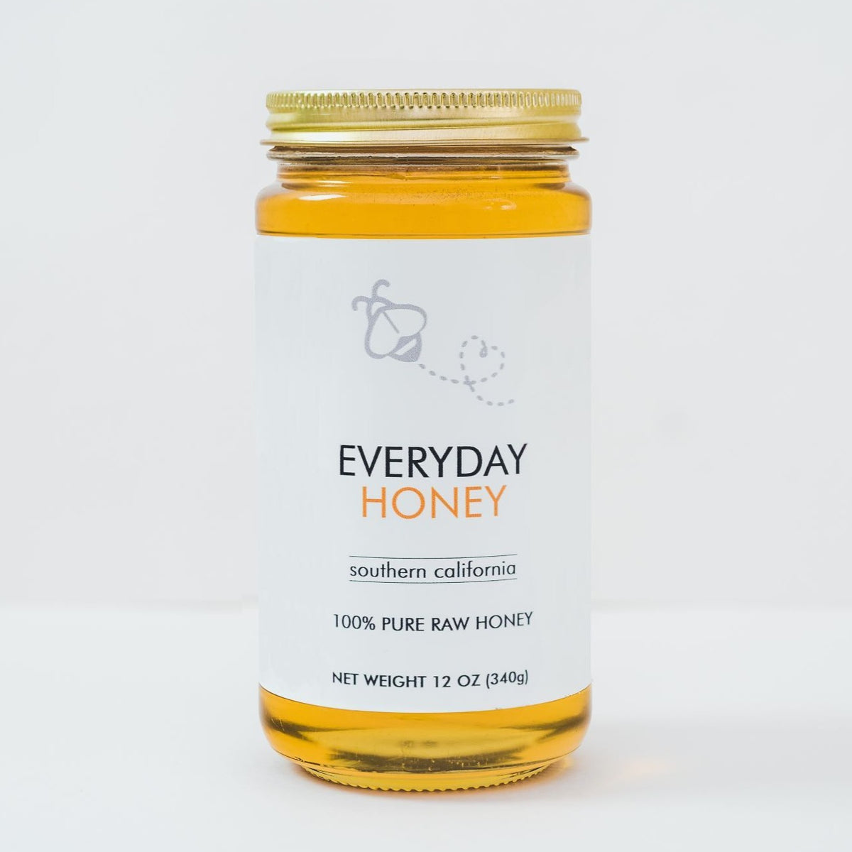 Local So Cal Gourmet Honey - 1 lb glass jar