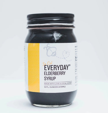 SoCAL Everyday® Elderberry - 15 oz made with Local SoCal Honey