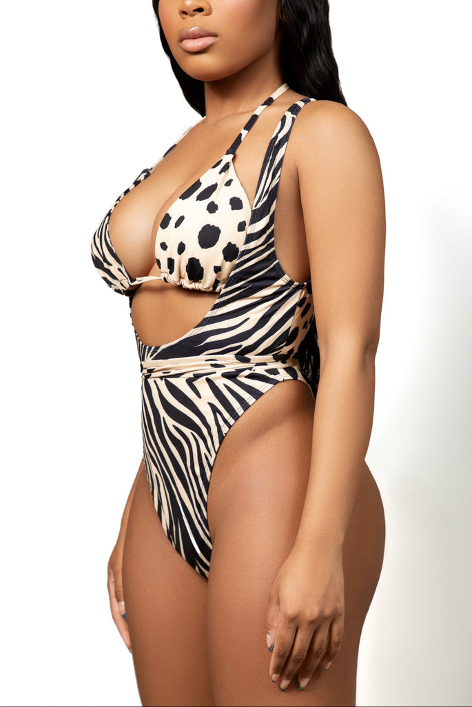 WILD CAT ONE PIECE