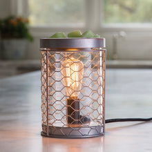 Load image into Gallery viewer, Chicken Wire Edison Bulb UK Plug Wax Burner