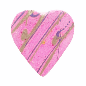 Prosecco And Raspberry Bath Bomb Heart