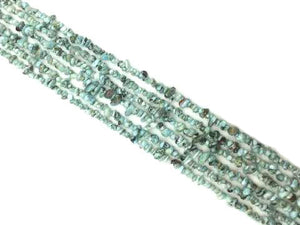 Larimar 36 Inch Chips 5X8Mm