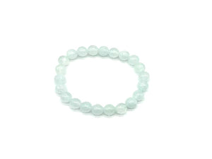 Color Stone Light Blue Bracelet 8Mm