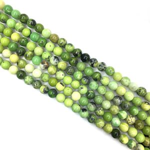 Chinese Chrysoprase Round Beads 4mm
