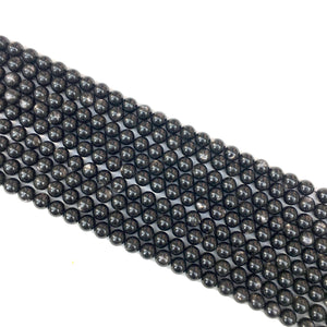 Hypersthene Round Beads 6mm