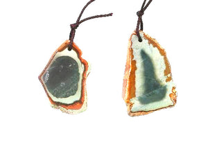 Impression Jasper Pendant 32X50-35X55Mm