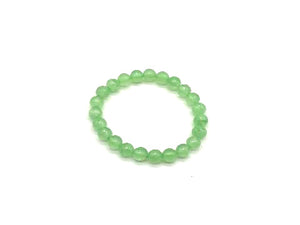Color Stone Green Bracelet 8Mm