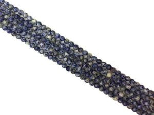 African Sodalite Faceted Rounds 10Mm