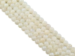 Rainbow Moonstone Round Beads 3Mm