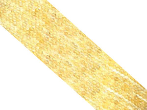 "Citrine Long(14""-16"") Round Beads 4Mm"