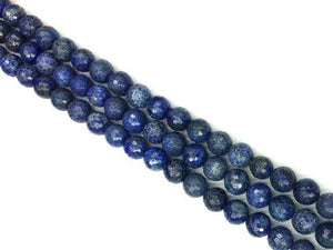Lapis Faceted Rounds 8Mm