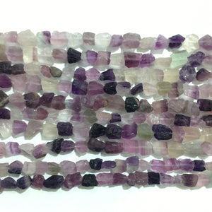 Purple Fluorite Raw Nugget 6X8-8X10mm