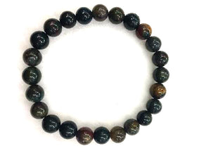 Bloodstone Bracelet 6Mm