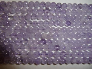 Cape Amethyst Round Beads 6Mm