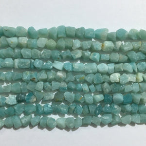 Amazonite Raw Nugget 6X8-8X10mm