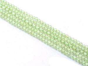Peridot Super Precision Cut Faceted Rounds 2Mm