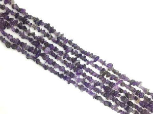 Amethyst 36 Inch Chips 5X8Mm