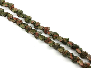 Unakite Bear 32Pcs 10X14Mm