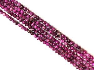 Color Purple Stone Round Beads 14Mm