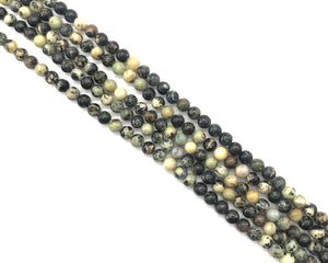 Old African Turquoise Round Beads 6mm