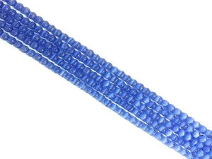 Artificial Opal Light Blue Round Beads 6Mm