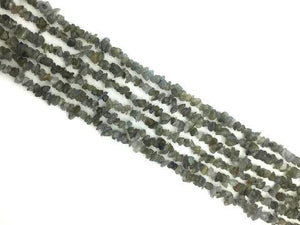 Labradorite 36 Inch Chips 5X8Mm