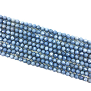 Blue angel Faceted Beads 7mm