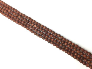Goldstone Faceted Rounds 4Mm