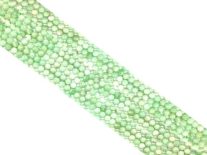 Green Moonstone Round Beads 4Mm