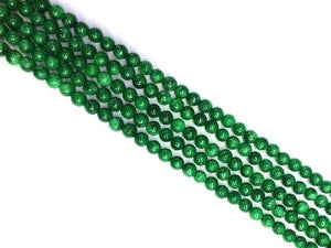 Color Jade Malachite Round Beads 6Mm