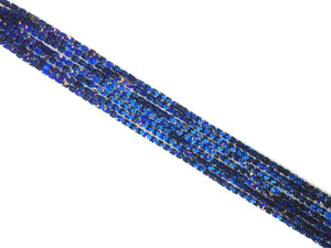 Coated Hematite Blue Arches 4X4Mm
