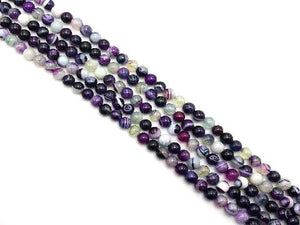 Color Sardonyx Ruby Zoisite Round Beads 16Mm