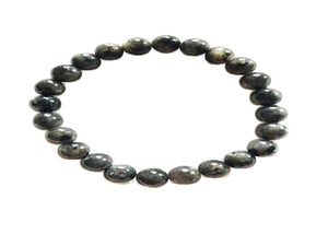 Black Labradorite Bracelet 8Mm