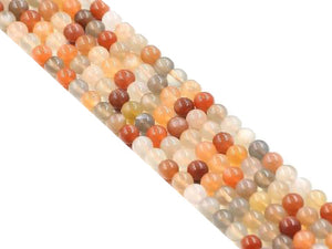Multi Moonstone Round Beads 10Mm