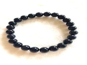 Blue Gold Stone Bracelet 4Mm