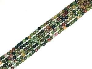 Fancy Jasper Faceted Rounds 8Mm