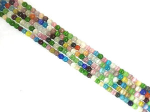 Artificial Opal Rainbow Round Beads 8Mm