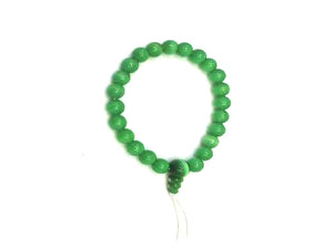 Synthetic Opal Green Mala Bracelet Bracelet 8Mm