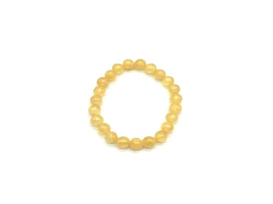 Color Stone Gold Bracelet 8Mm