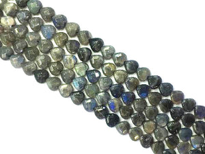 Labradorite Faceted Heart 14Mm