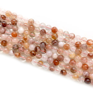 Red crystal Beads 8mm