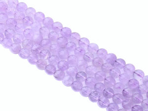 Cape Amethyst Round Beads 4Mm