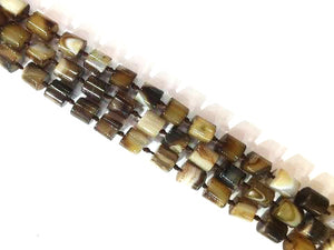 Color Brown Sardonyx Cube 14X14Mm