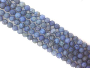 Matte Demoderite Round Beads 6Mm