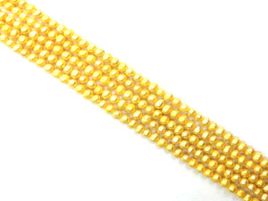 Fresh Water Pearl Gold Potato 7-8Mm