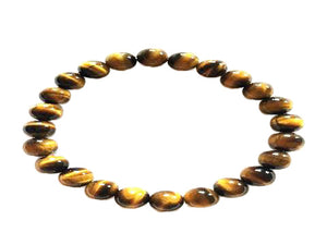 Yellow Tiger Eye Bracelet 8Mm